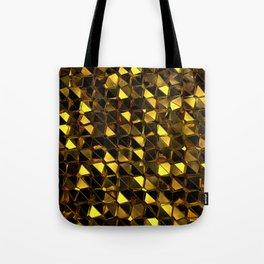 Golden Polygons 02 Tote Bag