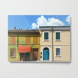 Italian house Metal Print
