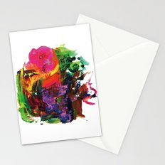 Digital painting collage series #1 Stationery Cards