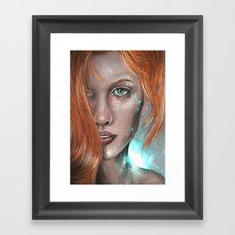 Supernova Framed Art Print