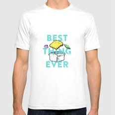 Best thing ever White SMALL Mens Fitted Tee