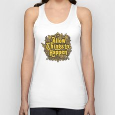 Allow Things to Happen Unisex Tank Top