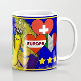 Monsieur Jac & Lily love Europe Coffee Mug