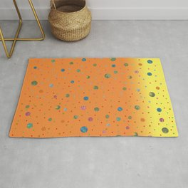 Fusion Orange & Yellow Rug