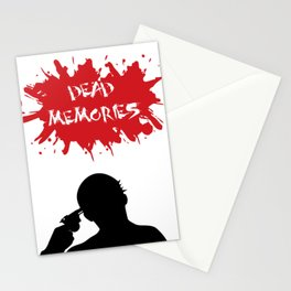 Dead Memories Stationery Cards