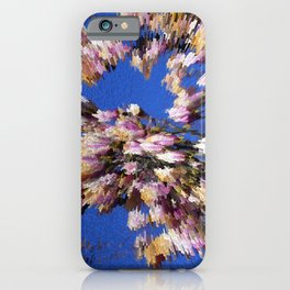 Abstract magnolia iPhone Case