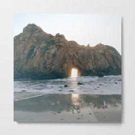 Ocean Hideaway II Metal Print