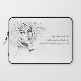 envy of wishes Laptop Sleeve