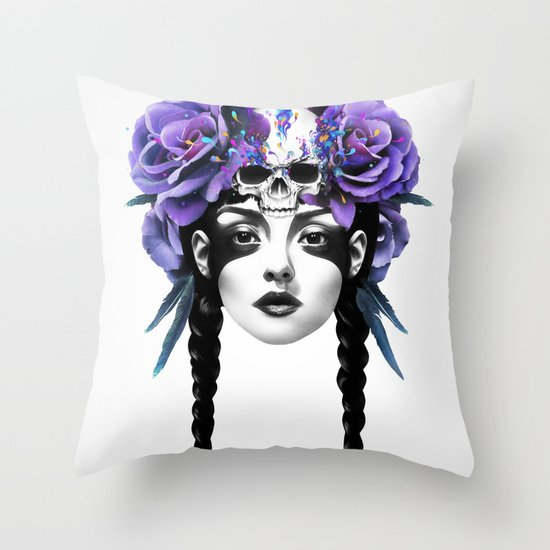 New Way Warrior Throw Pillow