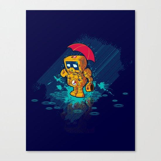 TINY ROBOT Canvas Print