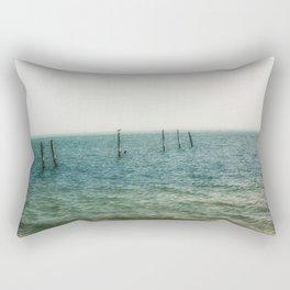 Ombre Sea Rectangular Pillow