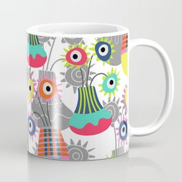 Flower Pots Coffee Mug