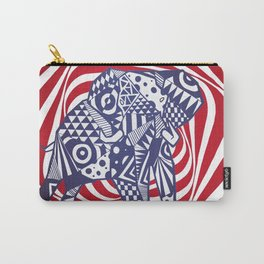 Psychedelephant Carry-All Pouch