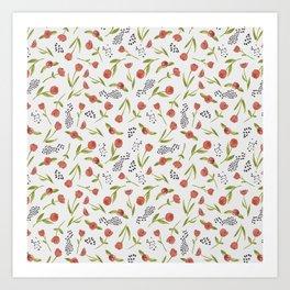 BTATO_Poppies Art Print