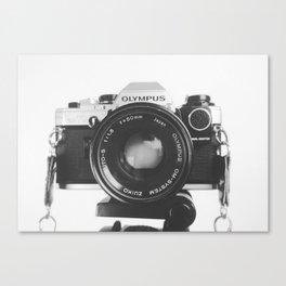Vintage happy snap Canvas Print