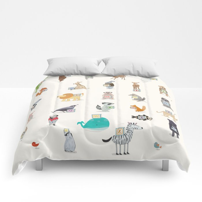 little alphabet Comforters