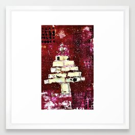 Christmas Tree Framed Art Print