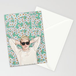Niall daisies field Stationery Cards