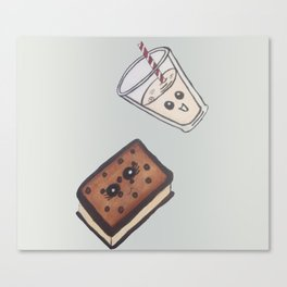 ice cream treat Canvas Print
