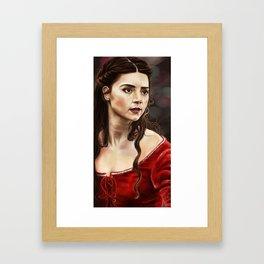 Clara of Sherwood Framed Art Print