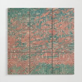 Circuitry Details 2 Wood Wall Art