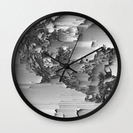 Japanese Glitch Art No.3 Wall Clock
