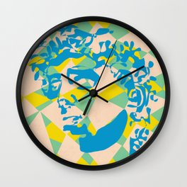 HAVE YOU SEEN DAVID'S FACE? Wall Clock