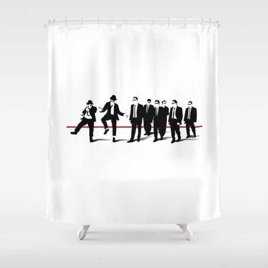 Reservoir Brothers Shower Curtain