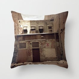 Absolutely No Throw Pillow