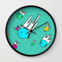 Race for the stars Wall Clock