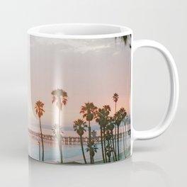 palm trees sunset vi / san clemente, california Coffee Mug