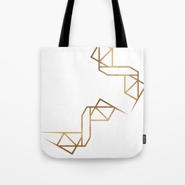 industrial golden glitters Tote Bag