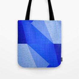 Lapis Lazuli Shapes - Cobalt Blue Abstract Tote Bag