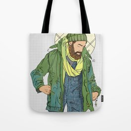 Jesus from New York Tote Bag