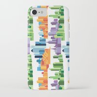cities iPhone & iPod Cases featuring Australian Cities by S. Vaeth