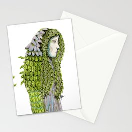 Ela. Defoliating Stationery Cards