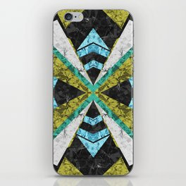 Marble Geometric Background G442 iPhone Skin
