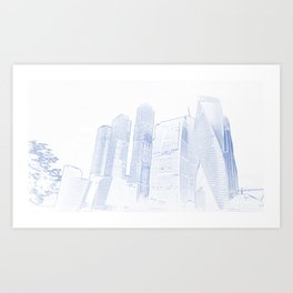 Blueprint art prints society6 malvernweather Choice Image