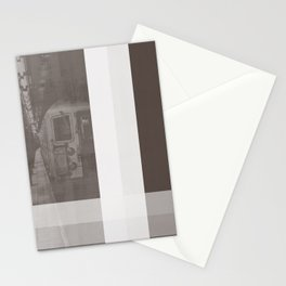NEW YORK NO. 1 | SUBWAY IN BROWN Stationery Cards