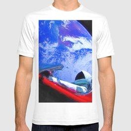 Tesla's Starman T-shirt