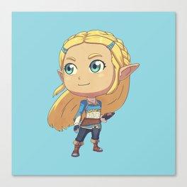 Princess of Hyrule Canvas Print