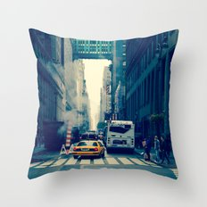east bound... Throw Pillow