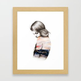 Interlude // Illustration Framed Art Print