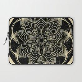 Antique Spiral Geometry Laptop Sleeve
