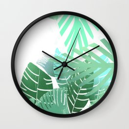 Welcome To My Jungle Wall Clock