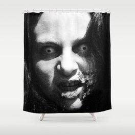 CREEPY K Shower Curtain