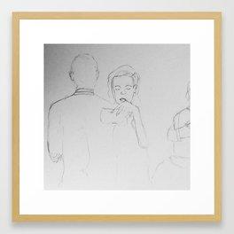 Waltz of Intimacy Framed Art Print