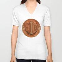 arizona V-neck T-shirts featuring Arizona by Lyle Hatch
