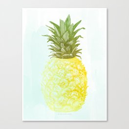 Southern Hospitality Pineapple Canvas Print