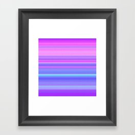 Soft Unicorn Framed Art Print